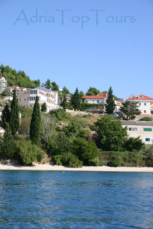 Haus Ansicht vom Meer