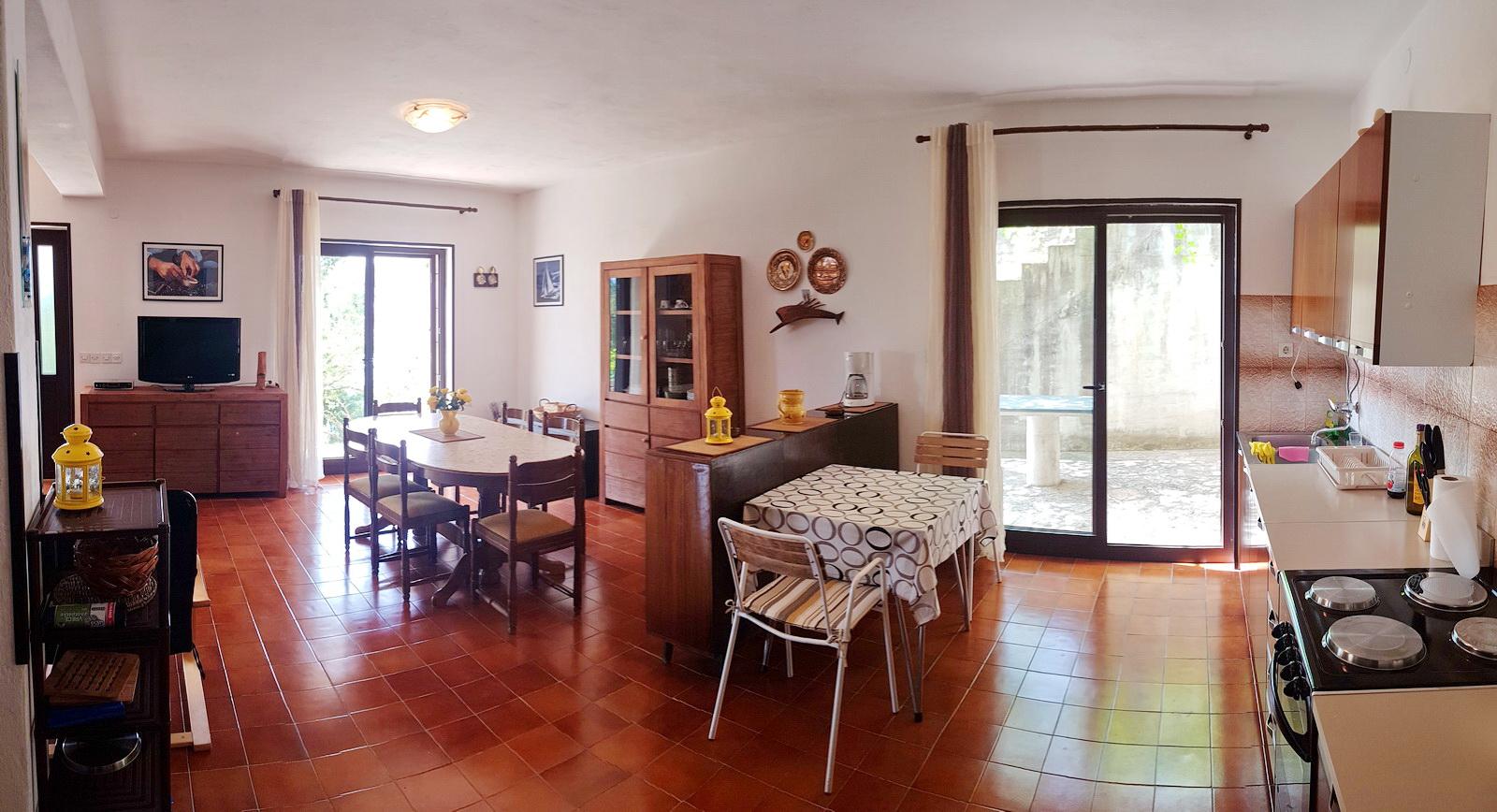 Erdgeschoss Wohn-Essbereich