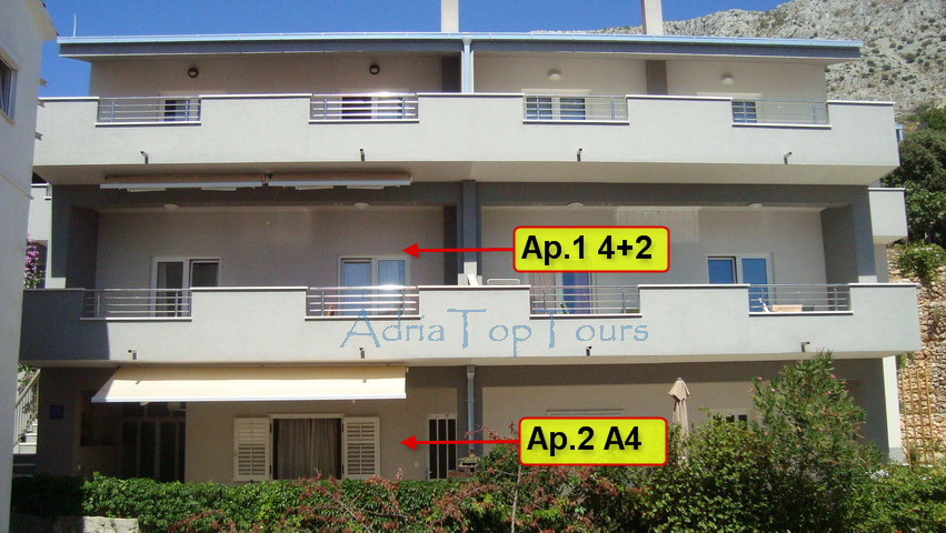 Klicken für Apartment Nummern